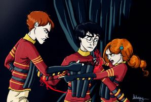 HP: HBP Torn by Loleia