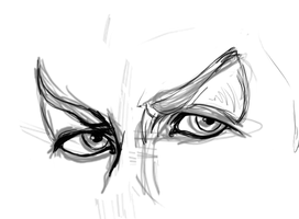 Eyes WIP by Phoenix-Cry