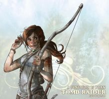 Learning Archery - Tomb Raider Reborn Contest by Khiliel