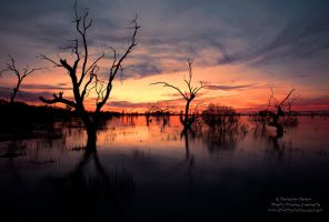 Menindee Sunset by FireflyPhotosAust