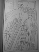 Cover sketch for The Sundays #3 by ScottEwen