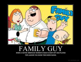 Family Guy Demotivational by jswv