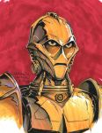 C-3PO Ultron by Mecha-Zone