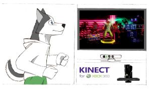 Xbox Kinect by topgae86turbo