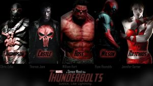 Thunderbolts Movie Banner by TazzBruhh