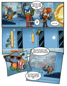 Mobius Legends Issue #1 - Page 6 by Yarcaz