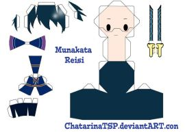 K Project Papercraft : Reisi by ChatarinaTSP