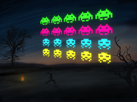 Space Invaders by Ernie-e