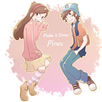 dipper mable-14 by ohthree