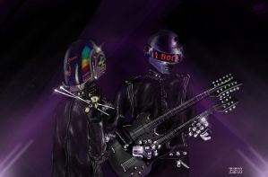 Rock! Robot rock! by G-Skywalker