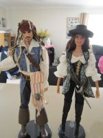 Pirates Of the Caribbean Dolls by Tora-Luv10