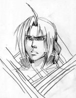 Edward Elric Sketch by Paradiss2009