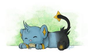 Shinx by TimeLadyVIII