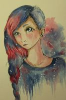 My own Galaxy by Butterflyeffected