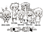 Bomb-Chuu Characters Pt.1 by TwillightRhapsody