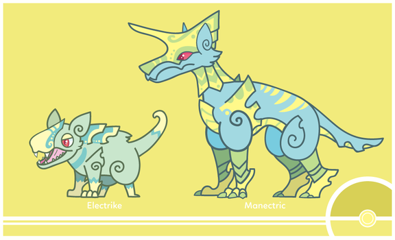 Pokemon #309-310 by Cosmopoliturtle
