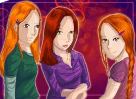 HP: The Potter Girls by Renee15