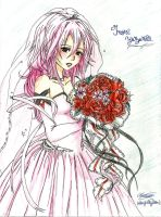 Egoist : Inori Yuzuhira's Wedding by MidnightlityDreams