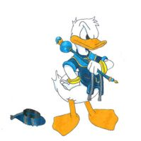 Donald Duck Kingdom Hearts by skelly-jelly