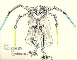 General Grievous by SH-Illustration