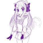 . . . :: Girl Neko Sketch :: . . . by MitsukoBunny-chan