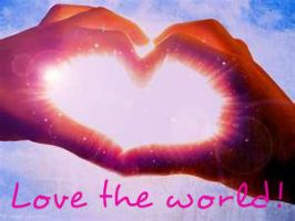 Love the world! by hyst3rious