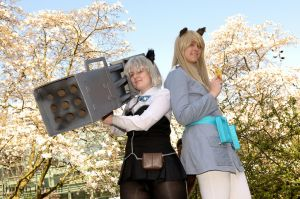 Strike Witches - Sanya / Eila by DISC-Photography