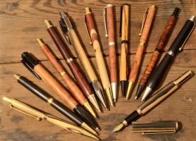 Pen And Pencil Collection by lamorth-the-seeker