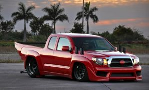 toyota tacoma road-legal drag by dem-fuzl