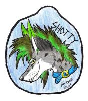 Shotty badge .:AT:. by Wolf-mutt
