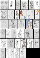Sketch Dump vol.5 by Vejit