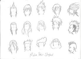 Male hair styles by THEAltimate
