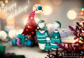 Happy Holidays From Crytivo Games by Koshelkov