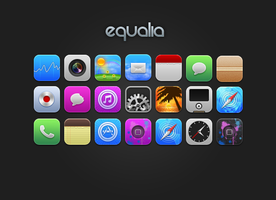 Equalia iPhone Theme by itouchking