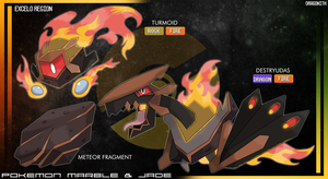 Excelo Region - Meteor Fragment by Dragonith