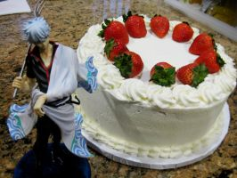 Gintama: Birthday Cake by KralleCakes