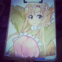 asuna by dechuuuu