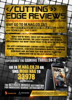 Gaming Magazine Ad - March by shangerz