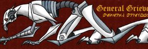 Prowling Grievous Bookmark by Demonic-Chaos