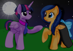 Dusk and Flare: Dancing In The Night by T-mack56