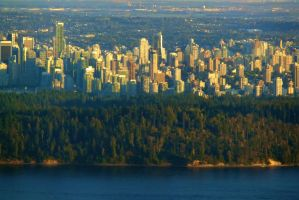 Stanley Park and Vancouver by WestSideofMidnight