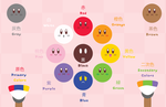 Kirby Color Wheel by Itachi-Roxas