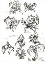 Starcraft Sketches by Maxor-GWD