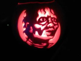 michael jackson pumpkin by ccootttt
