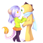 Collab: You must feel cold by nekophy