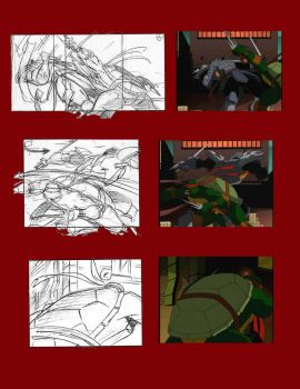 TMNT Storyboards 4 by YoTokutora