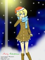 Christmas: Namine by advancedshiping