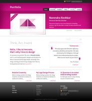Portfolio layout 2 by captonjohn