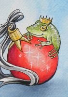 Xmas Frog 2009 by Athalour