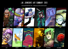 Art Summary 2013 by 0tacoon